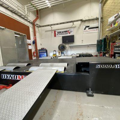 DYNOMAX 5000BRD 4WD BRAKED 1