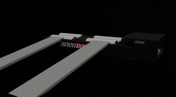 DYNOMAX 1500brd 2WD BRAKED 1